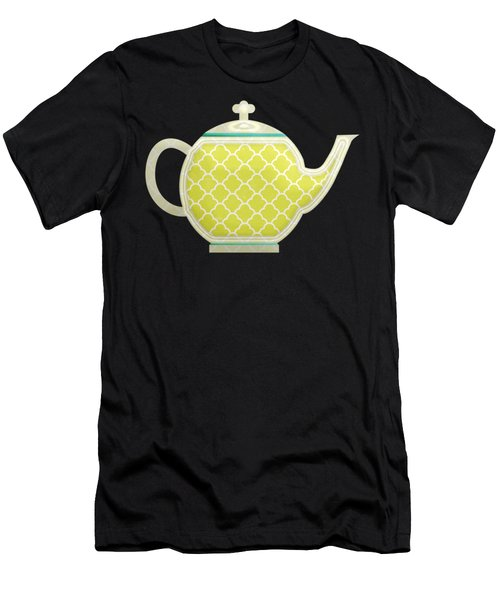 Teapot Garden Party 2 Men's T-Shirt (Athletic Fit)