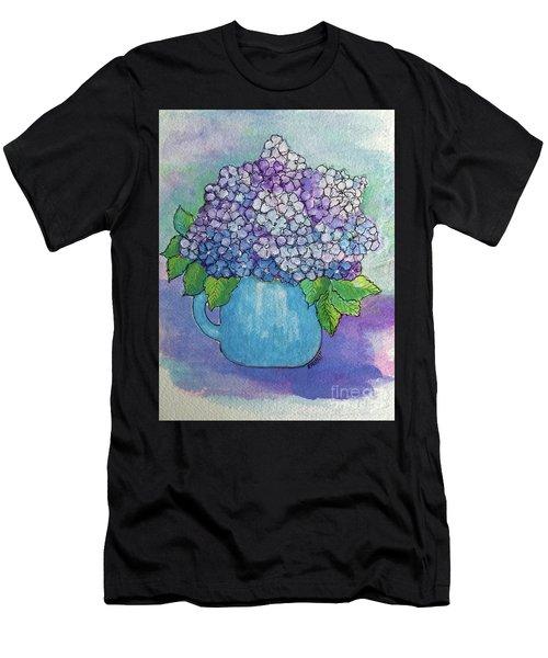 Teapot Hydranger Men's T-Shirt (Athletic Fit)