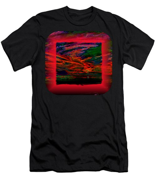 Technicolor Sunset 2 Men's T-Shirt (Athletic Fit)