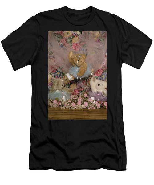 Teddy Bear Dancers Men's T-Shirt (Athletic Fit)