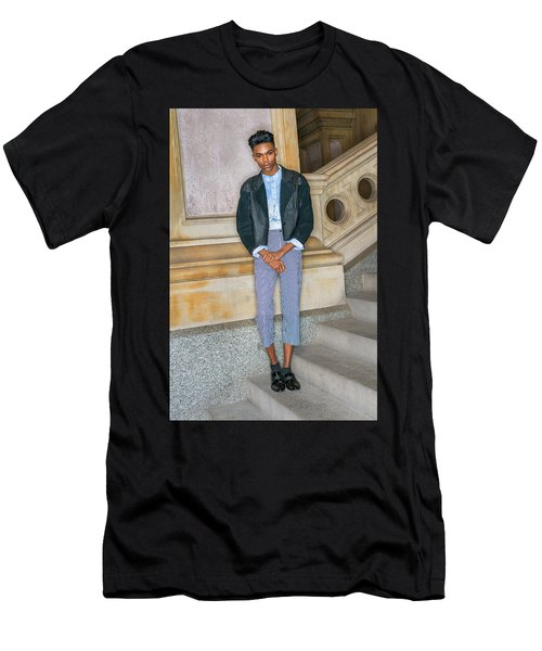 Teenage Boy Fashion 1504267 Men's T-Shirt (Athletic Fit)