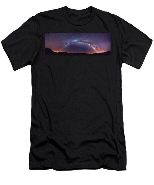 Teide Milky Way Men's T-Shirt (Athletic Fit)