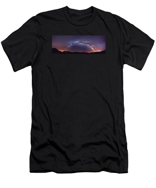 Teide Milky Way Men's T-Shirt (Athletic Fit)