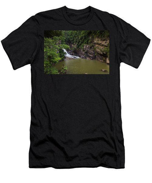 Tallulah Gorge Falls Men's T-Shirt (Athletic Fit)