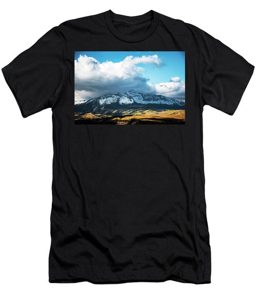 Telluride Colorado In The Fall Men's T-Shirt (Athletic Fit)