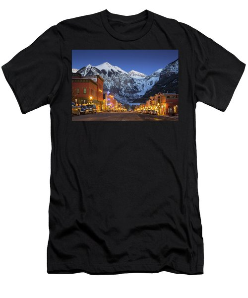Telluride Main Street 3 Men's T-Shirt (Athletic Fit)