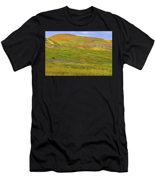 Temblor Range Spring Color Men's T-Shirt (Athletic Fit)