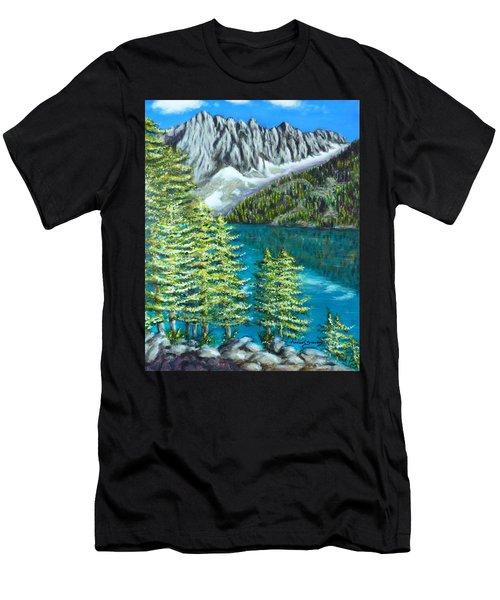 Temple Crag Men's T-Shirt (Athletic Fit)