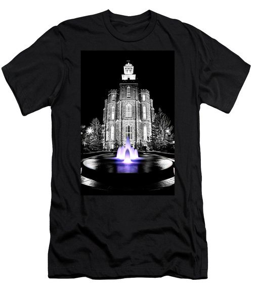 Temple Fountain  Men's T-Shirt (Athletic Fit)