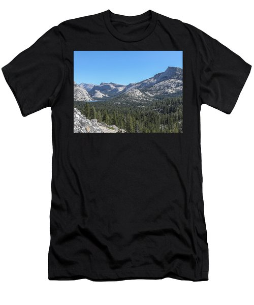 Tenaya Lake And Surrounding Mountains Yosemite National Park Men's T-Shirt (Athletic Fit)