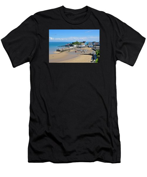 Tenby 1 Men's T-Shirt (Athletic Fit)