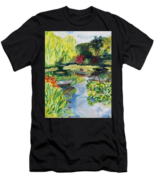 Tending The Pond Men's T-Shirt (Athletic Fit)