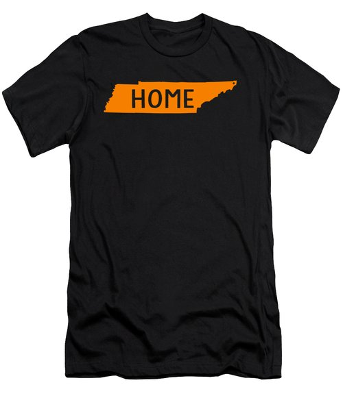 Tennessee Home Orange Men's T-Shirt (Athletic Fit)