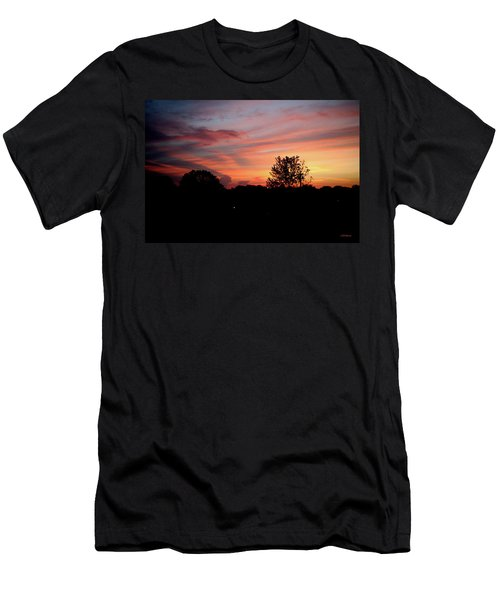 Men's T-Shirt (Athletic Fit) featuring the photograph Tennessee Sunset 305 by Ericamaxine Price