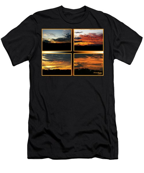 Tennessee Sunset Men's T-Shirt (Slim Fit) by EricaMaxine  Price