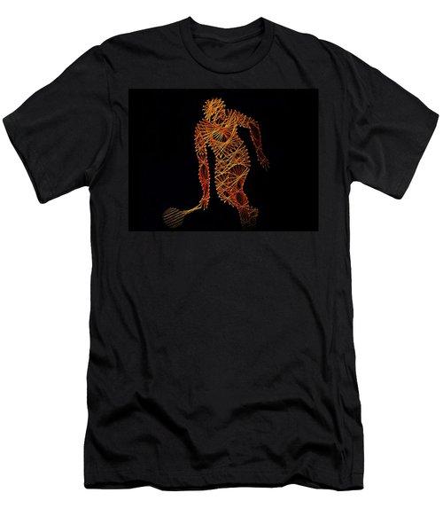 Tennis Men's T-Shirt (Athletic Fit)