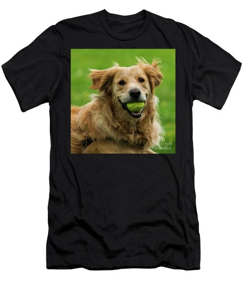 Tennis Is On ..wanna Play? Men's T-Shirt (Athletic Fit)