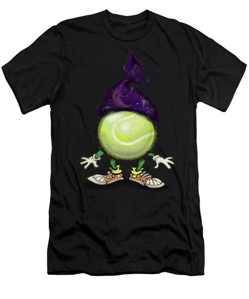 Tennis Wiz Men's T-Shirt (Athletic Fit)