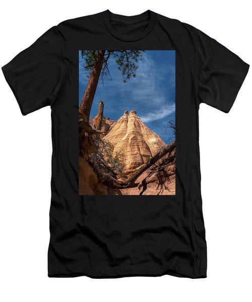 Tent Rock And Ponderosa Pine Men's T-Shirt (Athletic Fit)