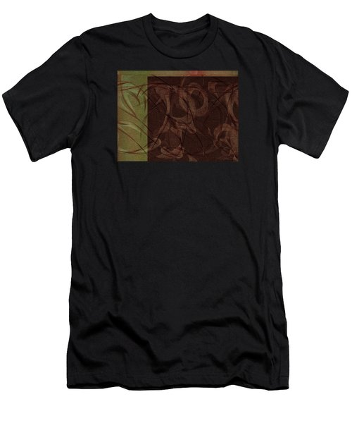 Terpsichore Abstract Men's T-Shirt (Athletic Fit)