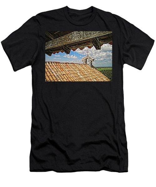 Terra Cotta Church Men's T-Shirt (Athletic Fit)