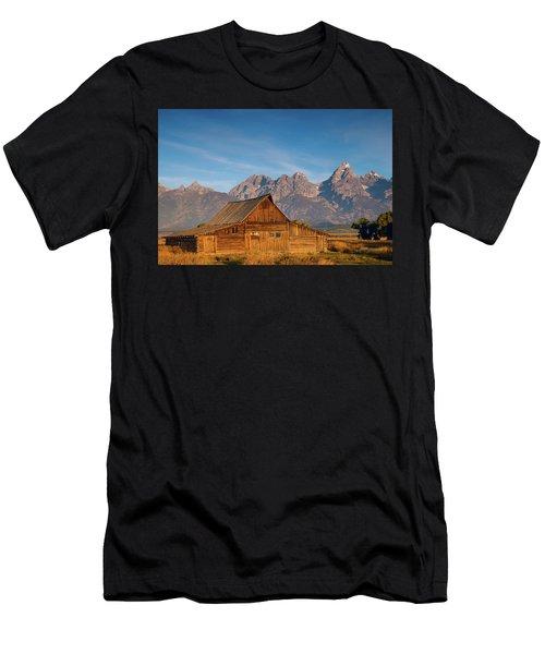 Teton Barn Men's T-Shirt (Athletic Fit)