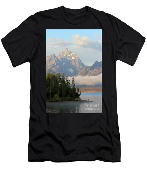 Teton Early Morning Men's T-Shirt (Athletic Fit)