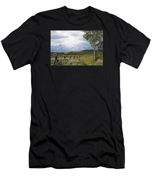 Teton Ranch Men's T-Shirt (Athletic Fit)