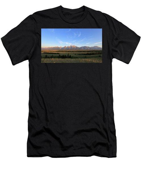 Teton Range After Sunrise Men's T-Shirt (Athletic Fit)
