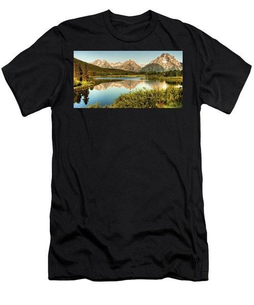 Teton Reflections Men's T-Shirt (Athletic Fit)