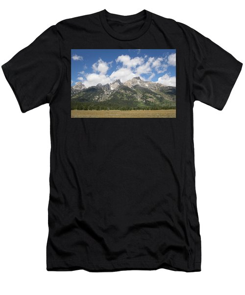 Teton View Men's T-Shirt (Athletic Fit)