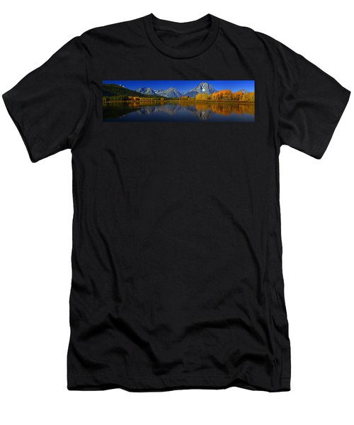 Tetons From Oxbow Bend Men's T-Shirt (Athletic Fit)