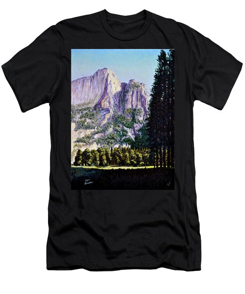 Tetons Men's T-Shirt (Slim Fit) by Stan Hamilton