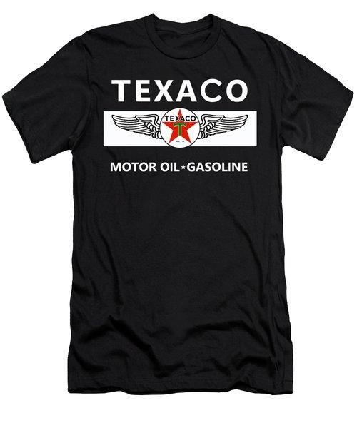 Texaco Motor Oil Men's T-Shirt (Athletic Fit)