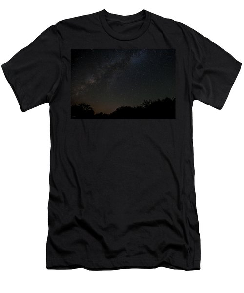 Texas At Night Men's T-Shirt (Athletic Fit)