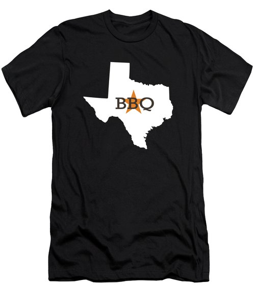 Texas Bbq Men's T-Shirt (Athletic Fit)
