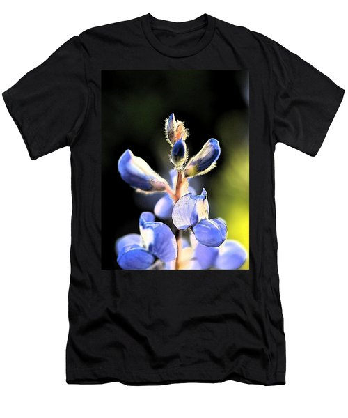 Texas Blue Bonnet Impressions 1 Men's T-Shirt (Athletic Fit)