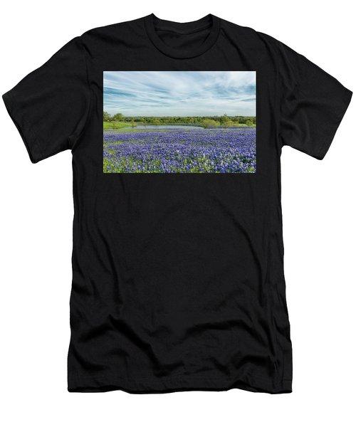 Texas Bluebonnets 13 Men's T-Shirt (Athletic Fit)