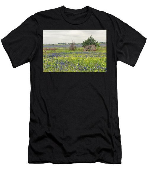 Texas Bluebonnets 3 Men's T-Shirt (Athletic Fit)