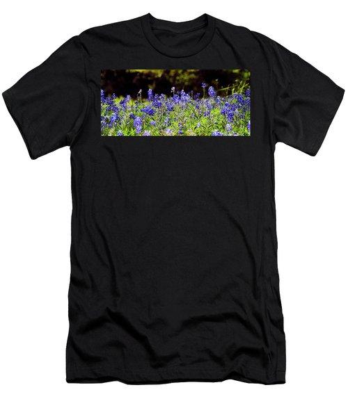 Texas Bluebonnets IIi Men's T-Shirt (Athletic Fit)