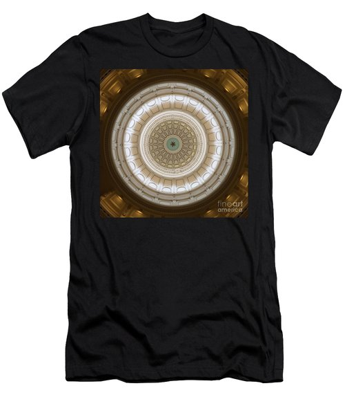 Men's T-Shirt (Slim Fit) featuring the photograph Texas Capital by Robert Meanor