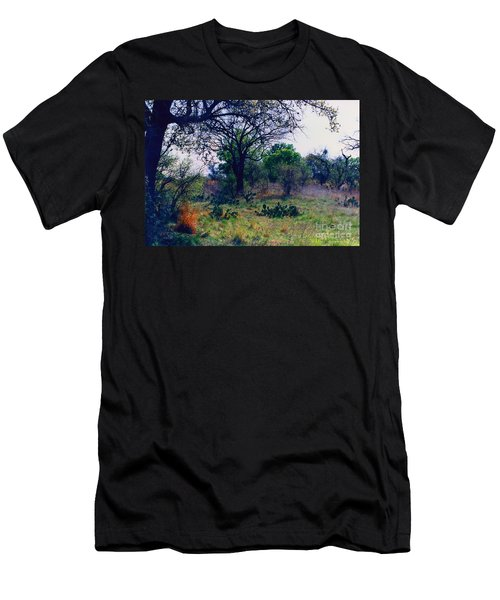 Texas Hill Country Men's T-Shirt (Slim Fit) by Fred Jinkins