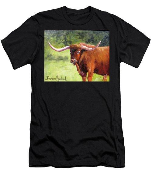 Texas Londhorn Men's T-Shirt (Athletic Fit)