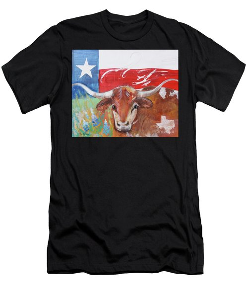 Texas Longhorn Men's T-Shirt (Athletic Fit)
