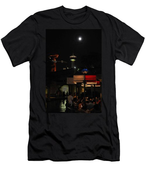 Texas Moon Men's T-Shirt (Athletic Fit)