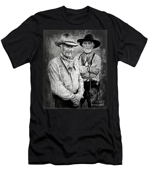 Texas Rangers Gus And Woodrow Paint Edit Men's T-Shirt (Athletic Fit)