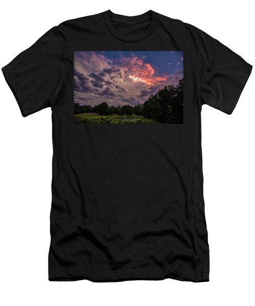 Texas Sunset Men's T-Shirt (Athletic Fit)