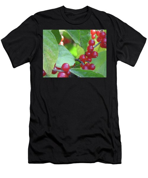 Textured Berries Men's T-Shirt (Athletic Fit)