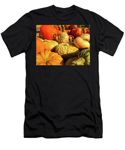 Textures Of Fall Men's T-Shirt (Athletic Fit)