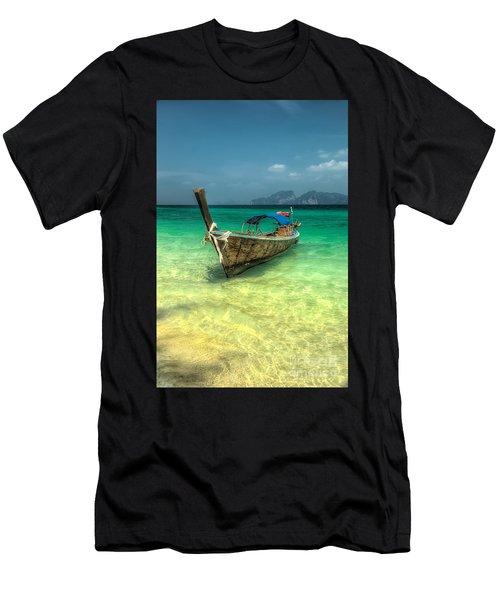 Thai Longboat  Men's T-Shirt (Athletic Fit)
